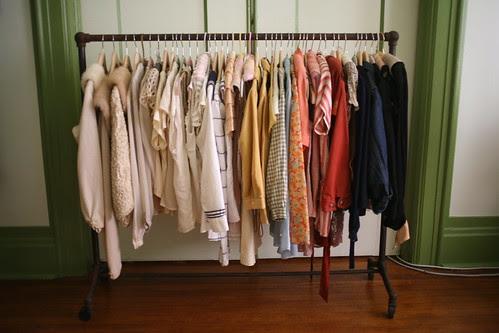 new blouse rack