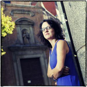 Marta Sanz, ganadora del premio Herrralde.