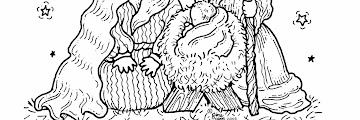Free Printable Coloring Pages Nativity