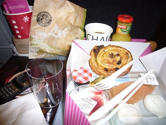 Erste-Klasse-Frühstück
