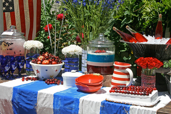4th Of July Ideas For Outdoor Decorating   Rustic Crafts & Chic Decor