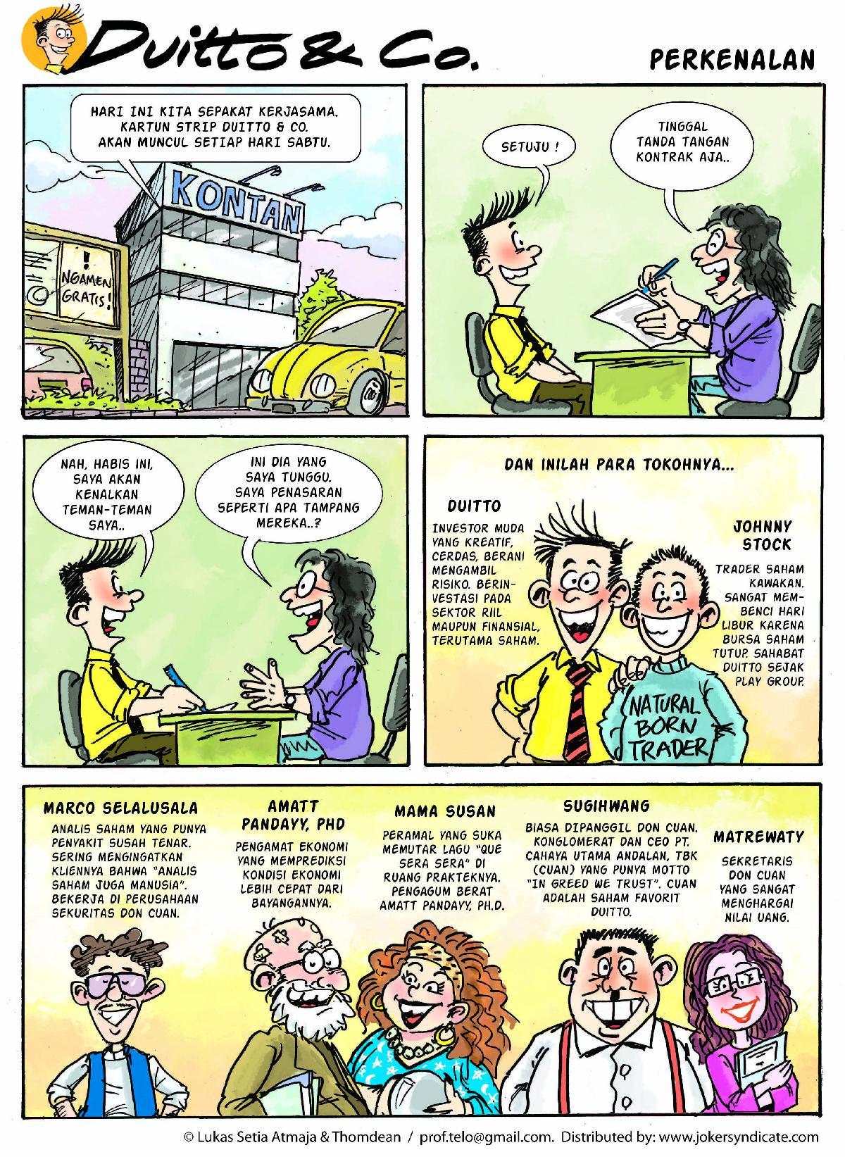 BASTIAN PANE Komik Kartun
