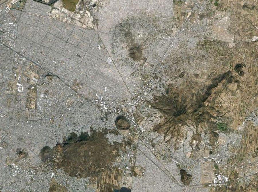 Neza-Chalco-Itza barrio, Mexico. A slum in Mexico city with approximately 4 million people.