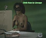 Cintia Rosa nua na serie As Cariocas