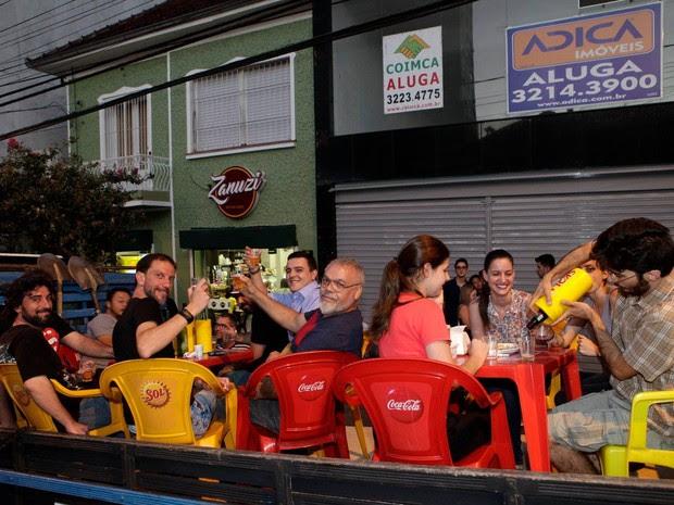 restaurante zanuzi caminhões caxias do sul (Foto: Daniela Xu/Arquivo Pessoal)