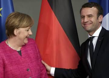 Merkel y Macron buscan una refundación de la UE