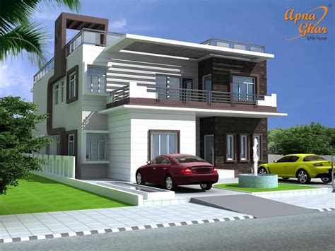 bedrooms duplex house design      click
