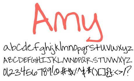 click to download Amy