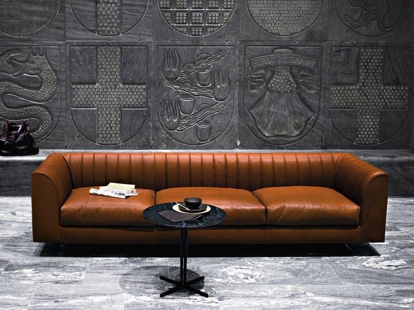 QUILT Leather sofa by Tacchini Italia Forniture design ...