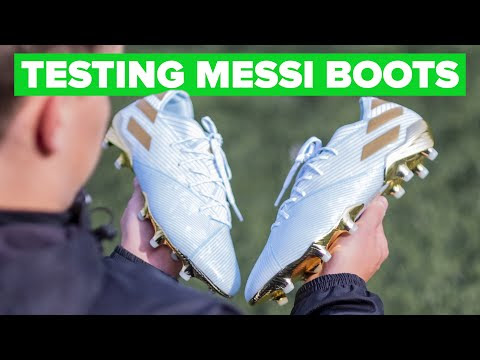 LIONEL MESSI wears these boots - here's why