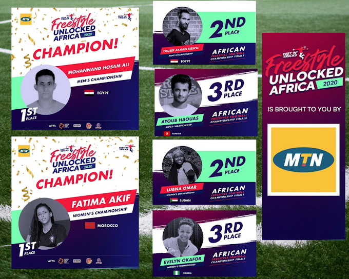 North Africans Steal the Show At the Freestyle UNLOCKED Africa 2020 Competition
