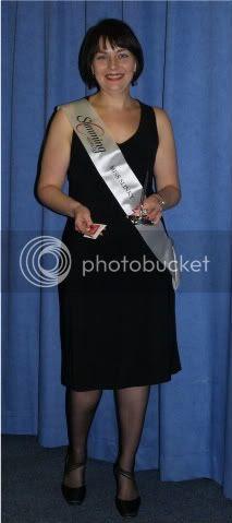 Andrea Slimmining World Miss Slinky 16 Nov 09