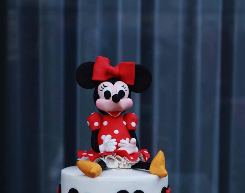 Kue Ulang Tahun Anak Minnie Mouse Berbagai Kue