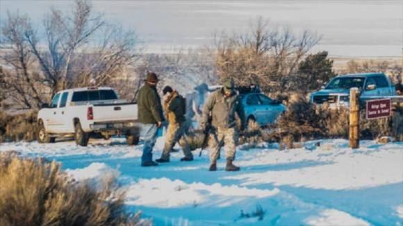La milicia armada que ha ocupado la sede del Refugio de Vida Salvaje de Malheur, en Oregón (noroeste de EE.UU.) asegura que resistirá allí durante muchos años si fuera necesario.