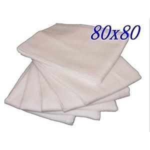 Mullwindeln weiß 80/80 - 10er Pack