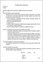 雇用 契約 書 英語