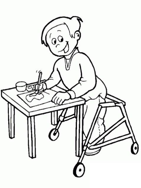 3 Aralık Engelliler Günü Boyama Etkinlikleri çocukların Gelişimi
