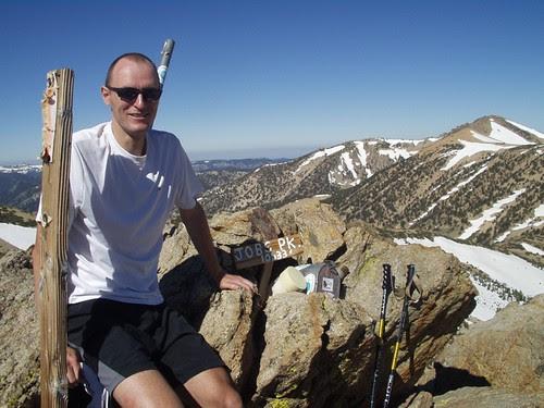 Me on the top of Job's Peak