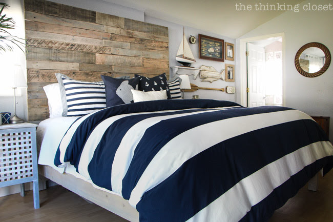 Before & After: Rustic Nautical Master Bedroom Makeover ...