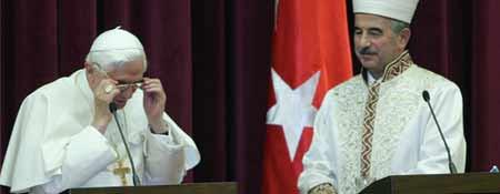 Visita del Papa a Turquía
