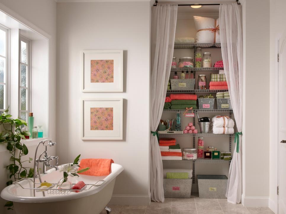 Creative Bathroom Storage Ideas | HGTV