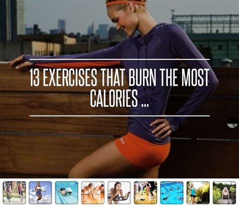 exercises  burn   calories