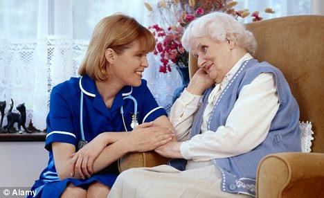 Image result for old person nursing home