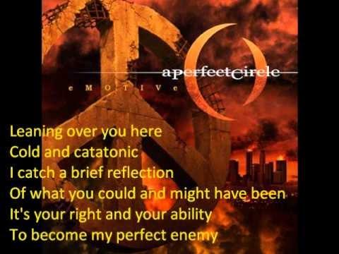 A Perfect Circle Passive Lyrics