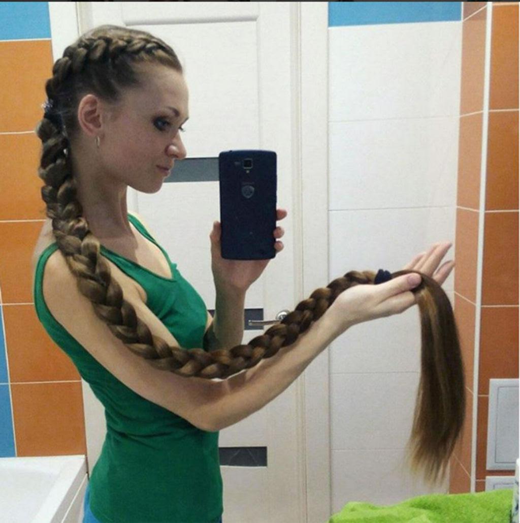 A rapunzel da vida real não corta os cabelos há 13 anos 03