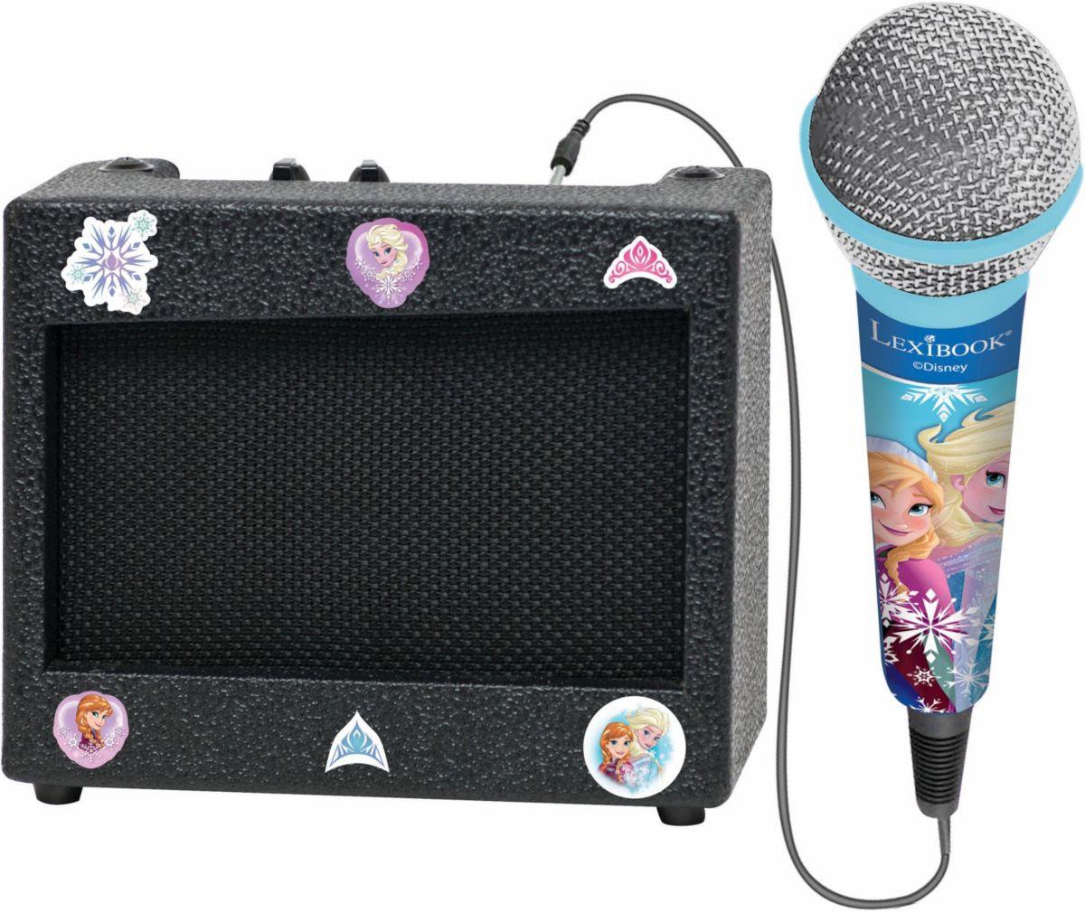 Lexibook Mikrofon mit Lautsprecher Disney Frozen