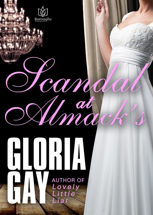 Scandal At Almacks - Book Cover