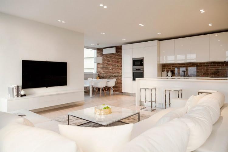 Einladendes Wohnzimmer in Weiß einrichten - 80 tolle Ideen
