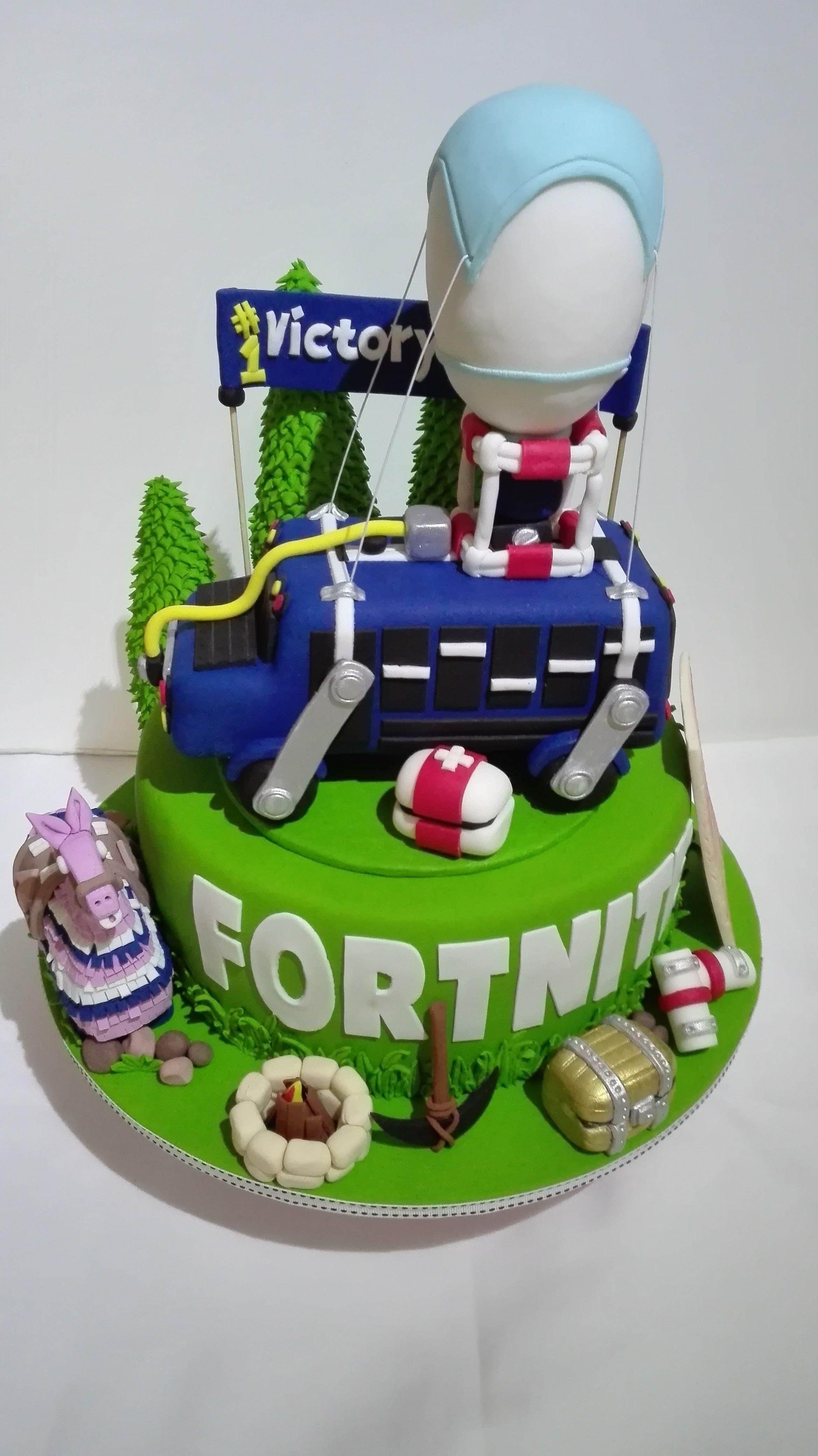 17 Geburtstag Torte Fortnite - Free V Bucks In Mobile