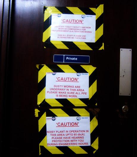 Tubelines Dangerous Door