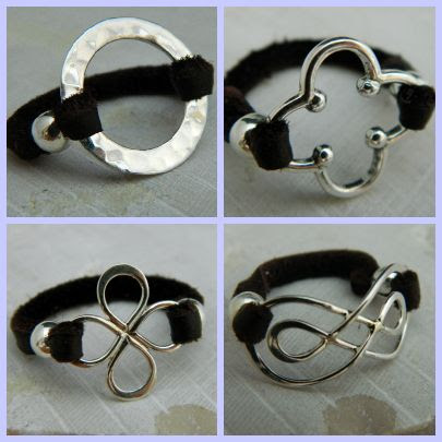 How To Video :: Make Leather Rings