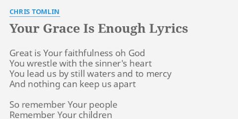 Great Is Your Faithfulness Lyrics Chris Tomlin