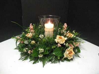 How to make a Hurricane Lamp Centerpiece. Make wedding