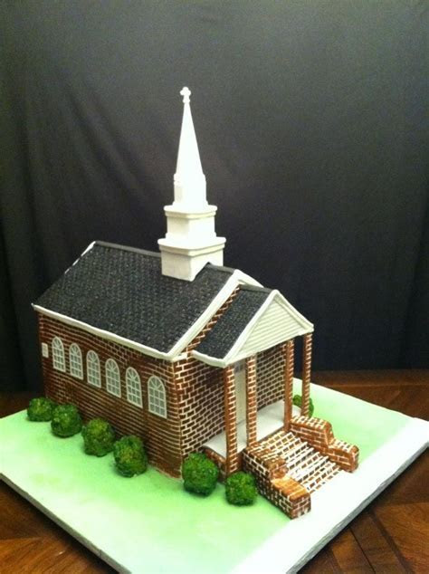 Yes, it's cake. Church Replica for 50th Anniversary