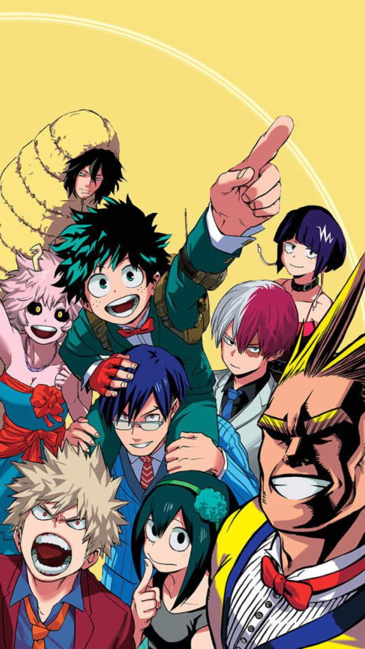 Group Wallpapers My Hero Academia Amino