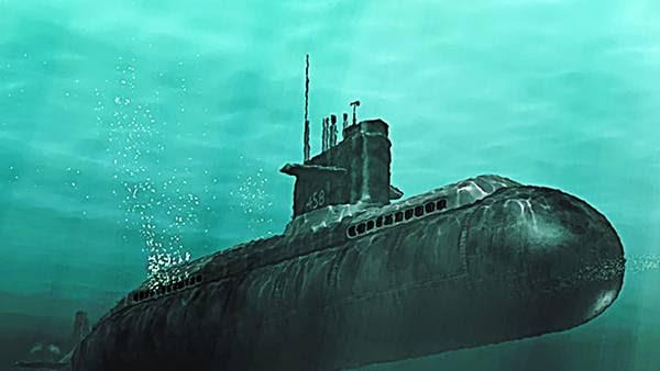Evolución. Un viejo submarino chino. Ese país es uno de los principales fabricantes de estas flotas navales. / ARCHIVO