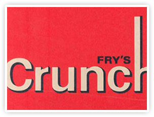 Originally launched as a Fry's product, Crunchie was launched in 1929.