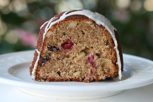 Spiced Cranberry Bundt - I Like Big Bundts