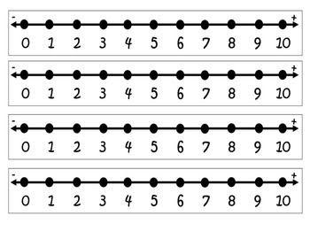 Number Line Worksheets : number line worksheets to 20 ~ Free ...
