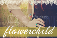 flowerchild button
