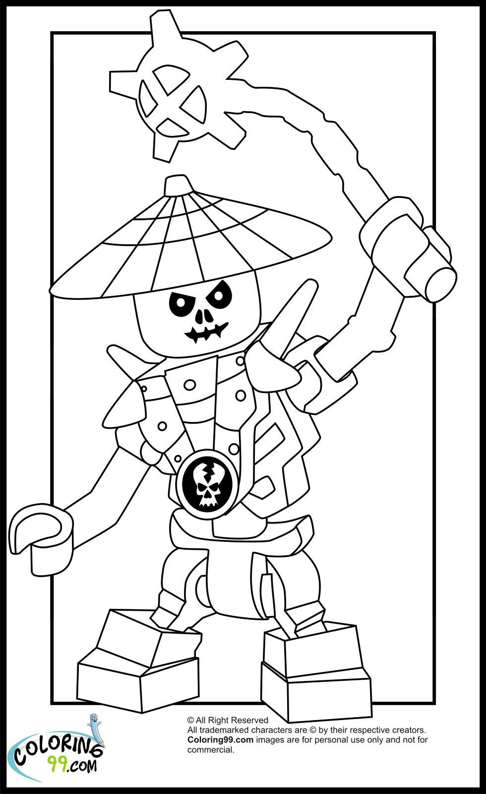 99 Top Ninjago Christmas Coloring Pages For Free