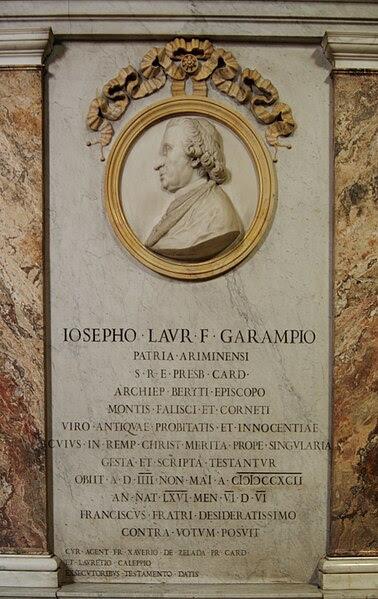 Fil: Giuseppe Garampi.jpg