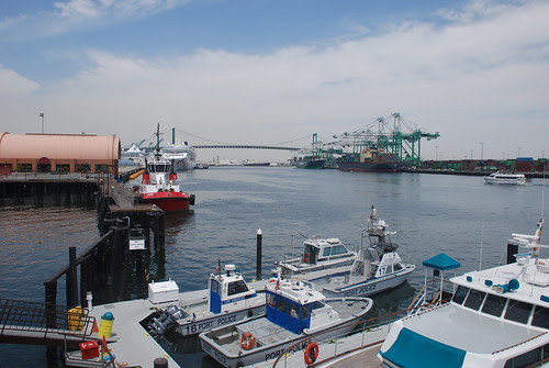 Los Angeles Main Channel in San Pedro