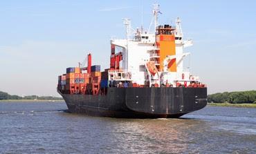 Container ship (illustrative)