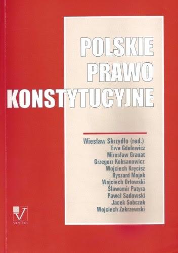 Okładka książki Polskie prawo konstytucyjne