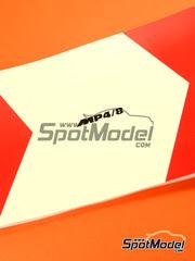 Libro  Komakai - McLaren Ford MP4/8  - Campeonato del Mundo 1993 - 92 páginas a todo color tamaño A5
